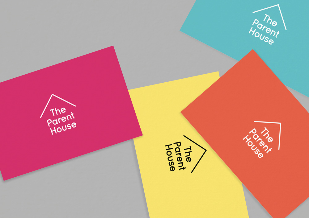 Brand New: New Logo and Identity for The Parent House by Brand Union