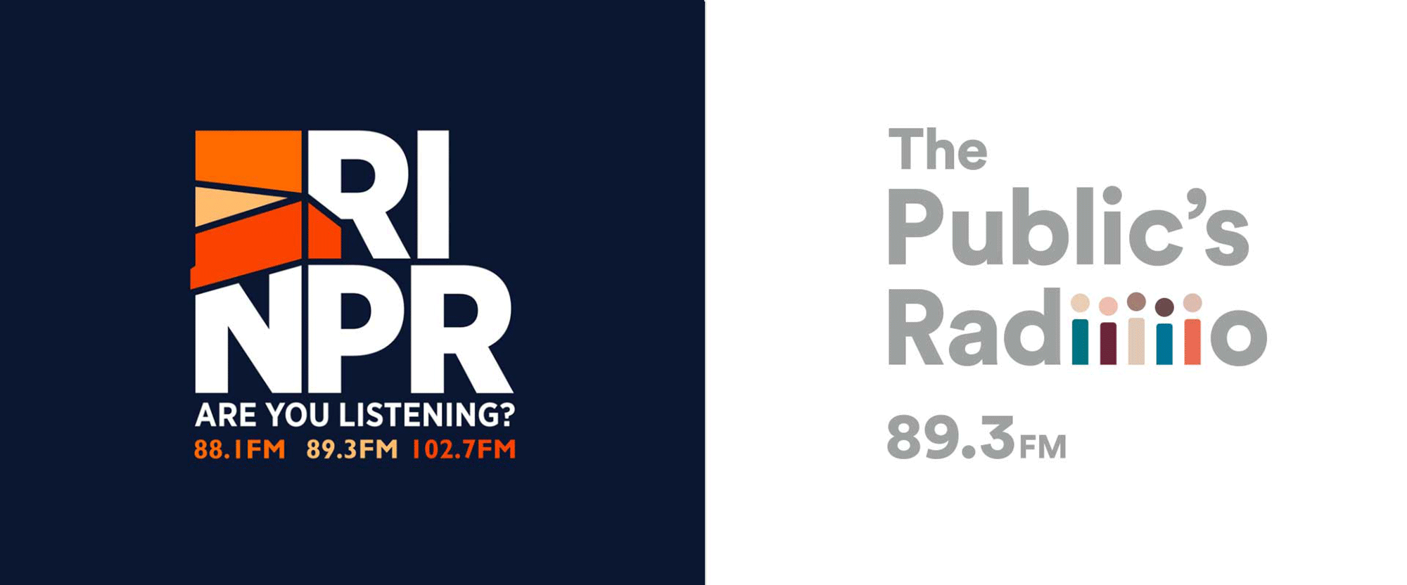 New Logo for The Public's Radio by NAIL