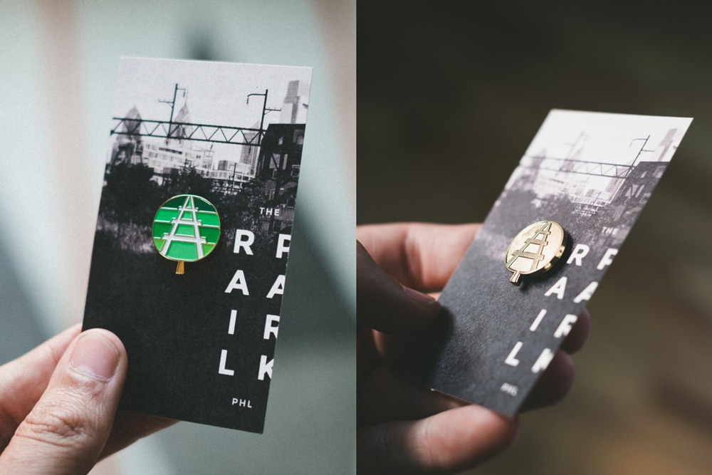 New Logo and Identity for The Rail Park by Smith & Diction