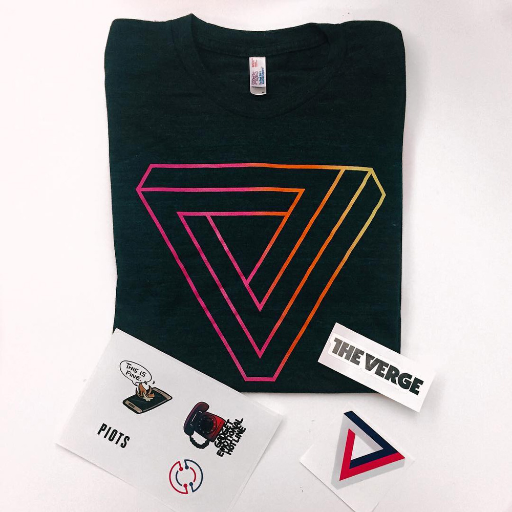 New Logo and Identity for The Verge done In-house