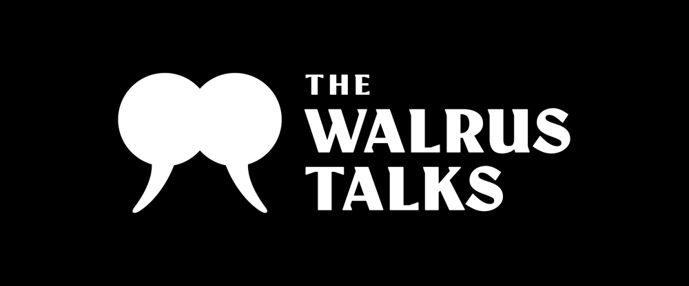 New Logo and Identity for The Walrus Talks by Rethink Canada