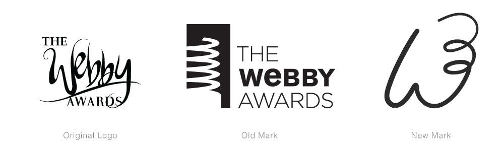 APRIL FOOLS: New Logo and Identity for The Webby Awards done In-house