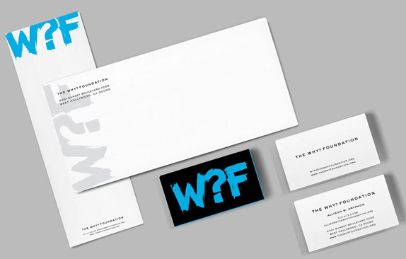The Why Foundation Logo and Identity