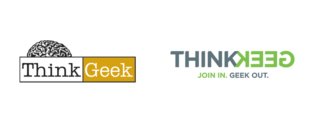 New Logo for ThinkGeek