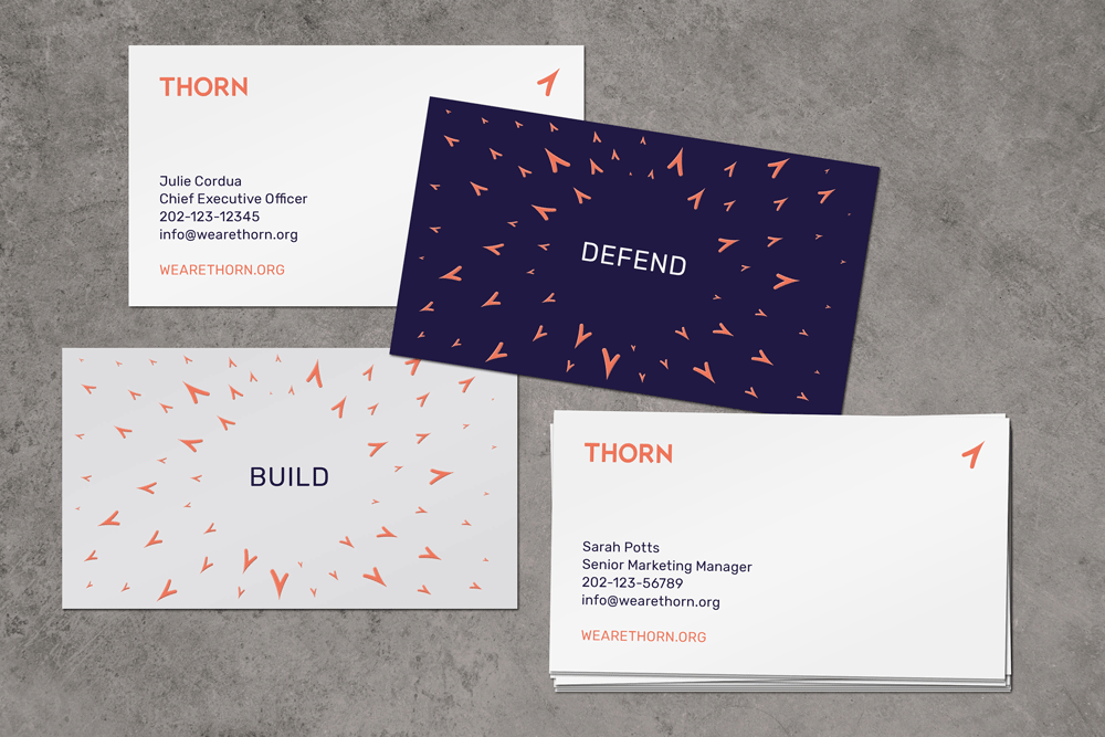 New Logo and Identity for Thorn by Wolff Olins