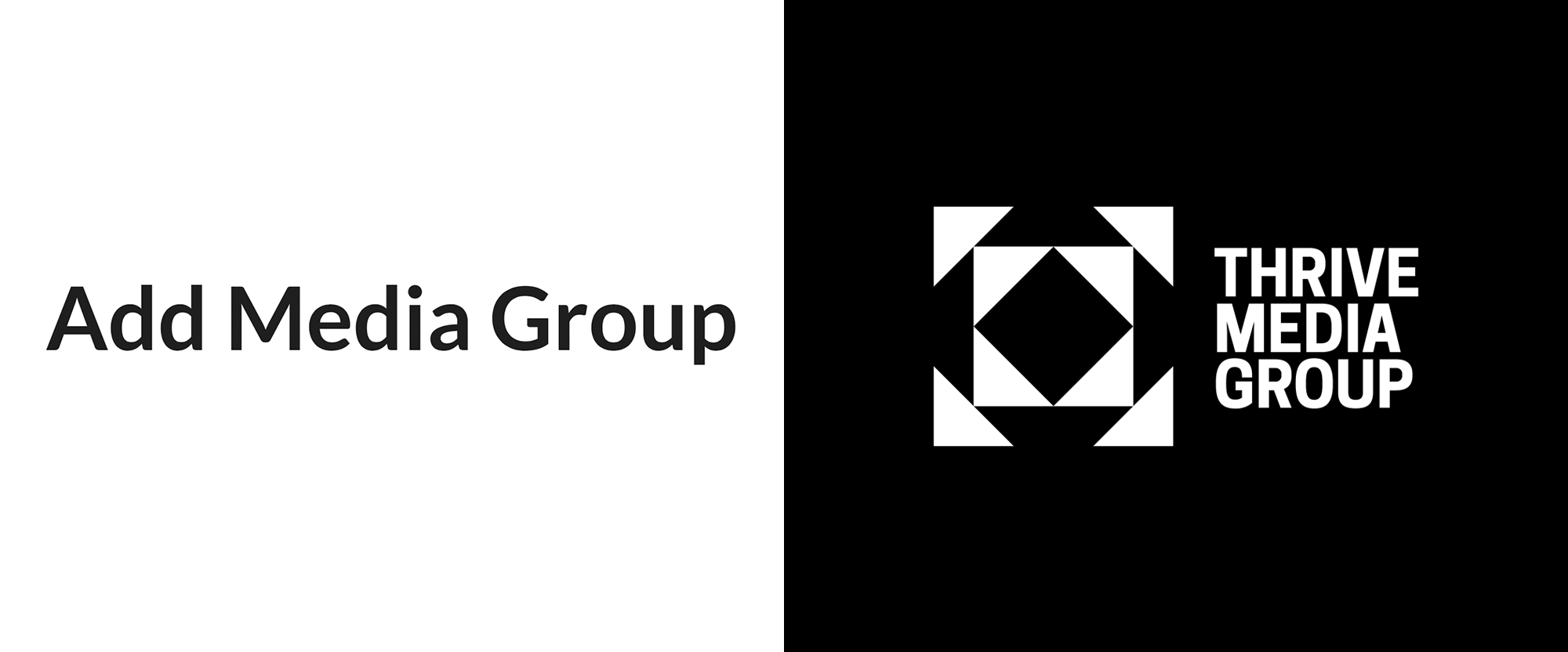 New Logo and Identity for Thrive Media Group by Ahoy