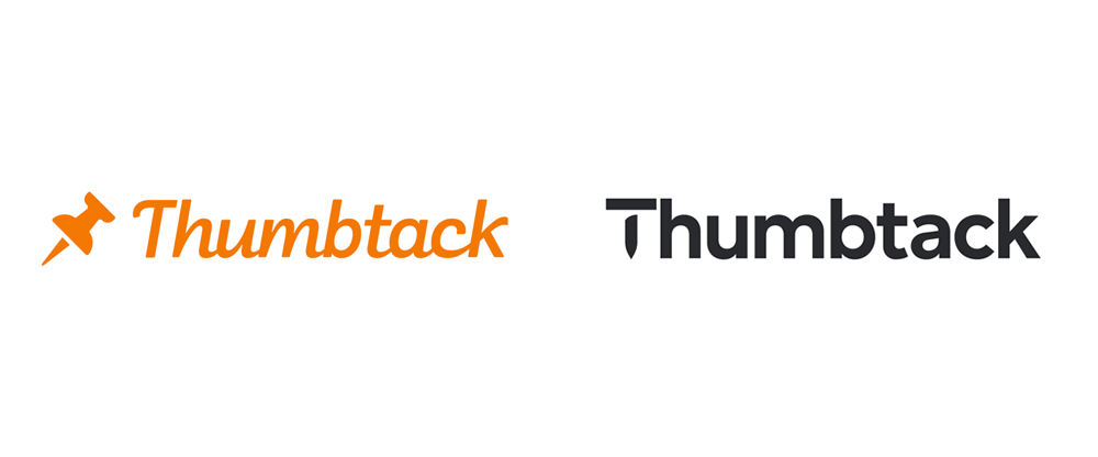New Logo and Identity for Thumbtack by Instrument and In-house