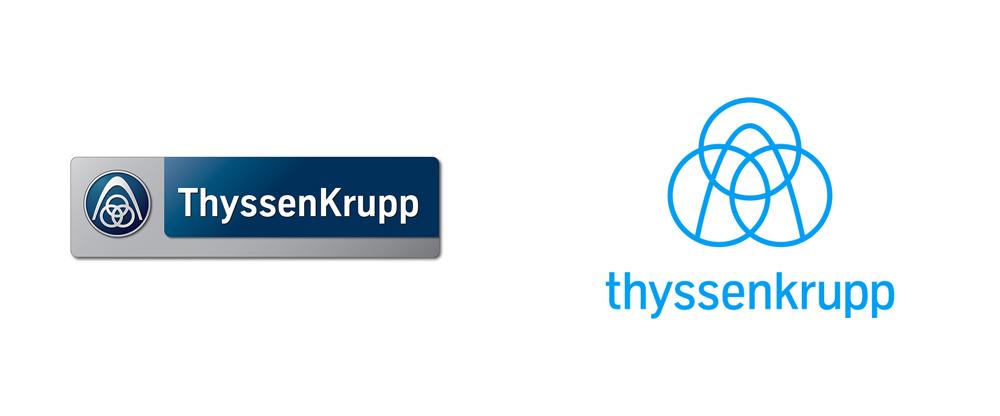 New Logo and Identity for thyssenkrupp by Loved