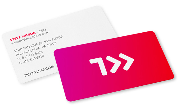 TicketLeap Logo and Identity