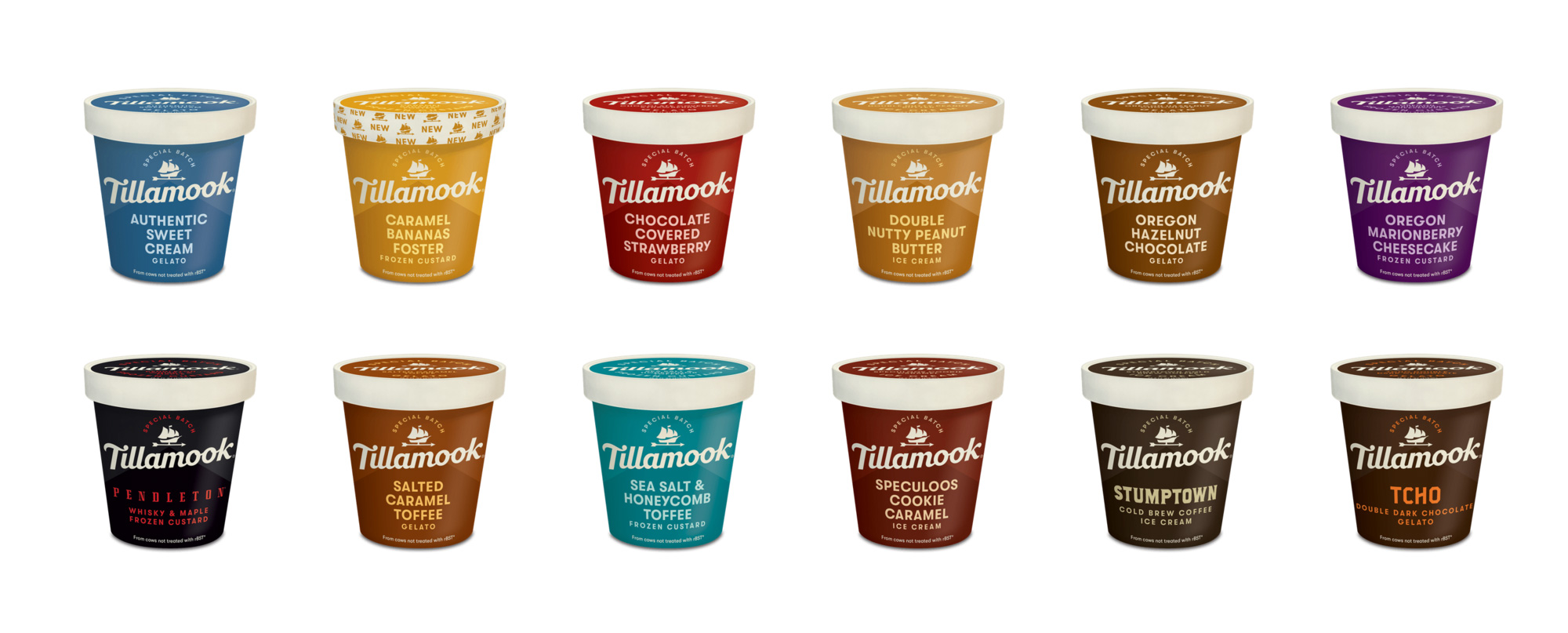 New Logo and Packaging for Tillamook by Turner Duckworth