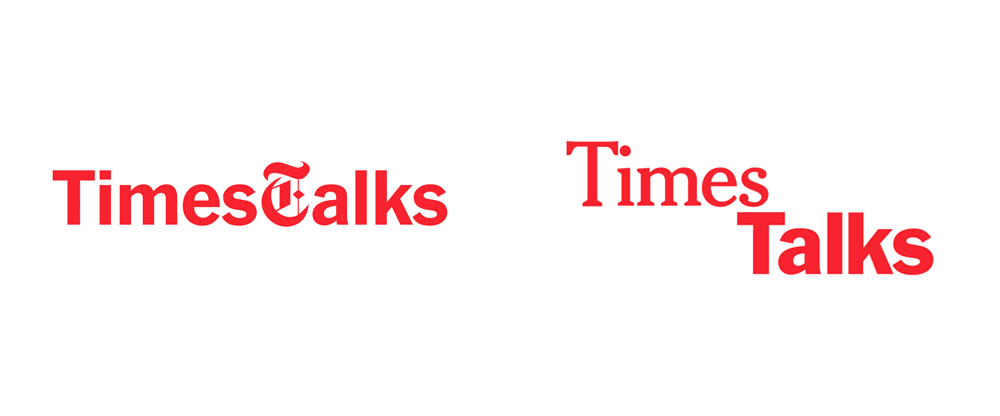 New Logo and Identity for TimesTalks by Base