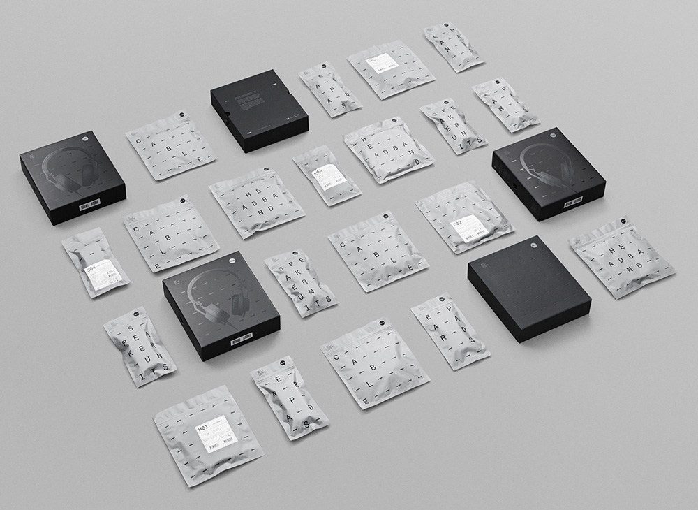 New Packaging for AIAIAI's TMA-2 done In-house and by Kilo