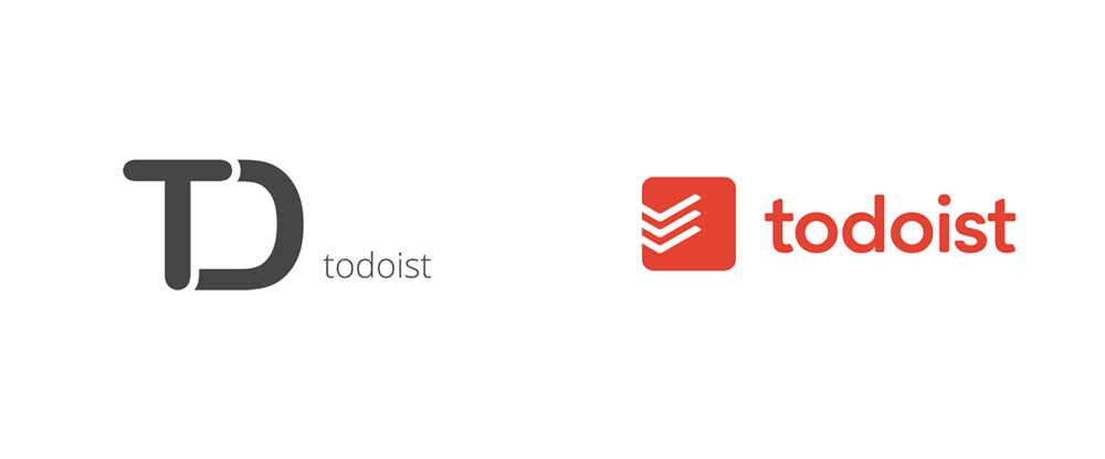 New Logo for Todoist done In-house