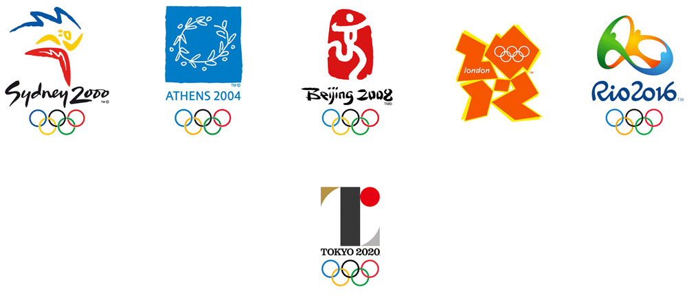 New Logo for the 2020 Summer Olympic Games by Kenjiro Sano