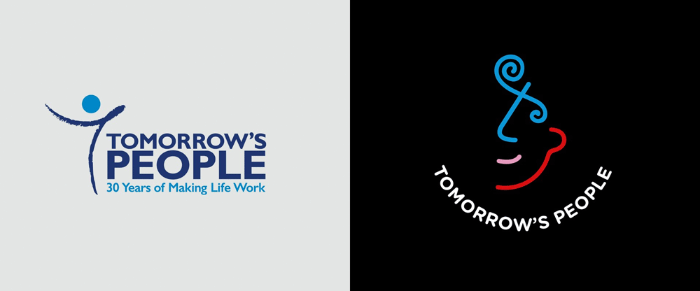 New Logo and Identity for Tomorrow's People by Ricky Richards