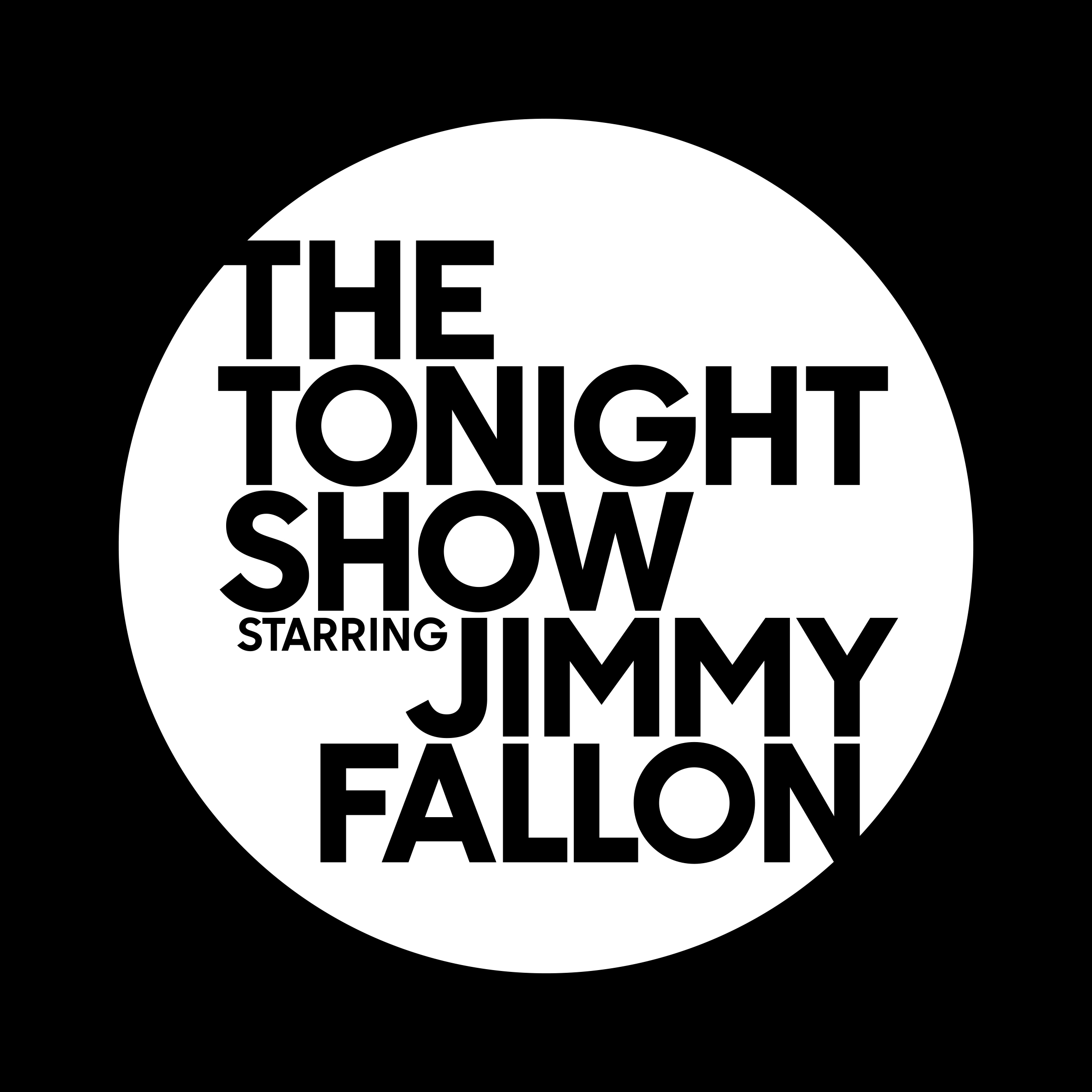 New Name and Logo for The Tonight Show by Pentagram