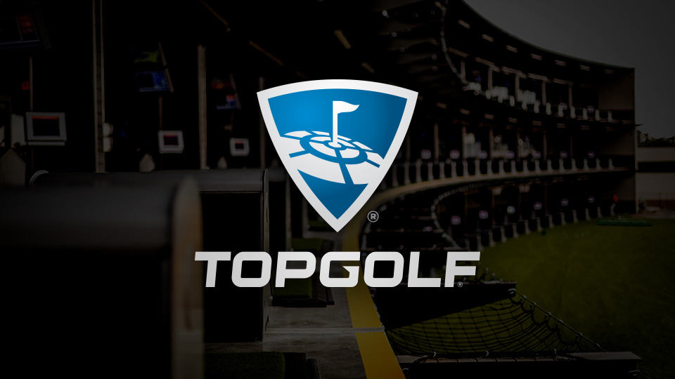 New Logo for Topgolf done In-house