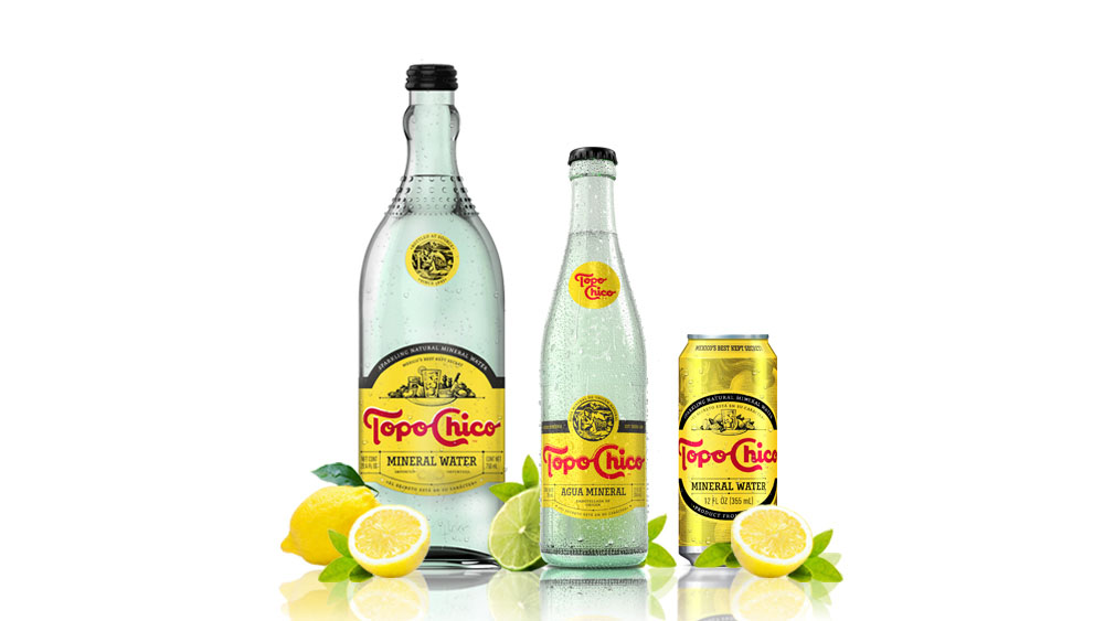 Brand New: New Logo and Packaging for Topo Chico by Interbrand