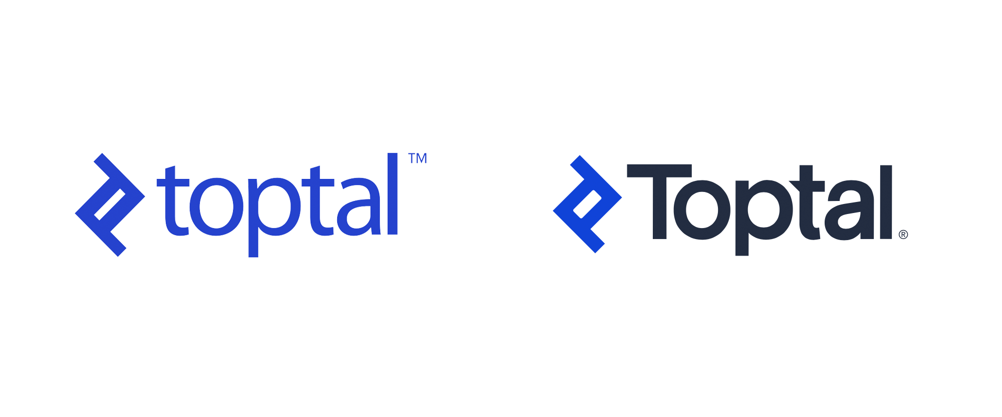 New Logo for Toptal done In-house