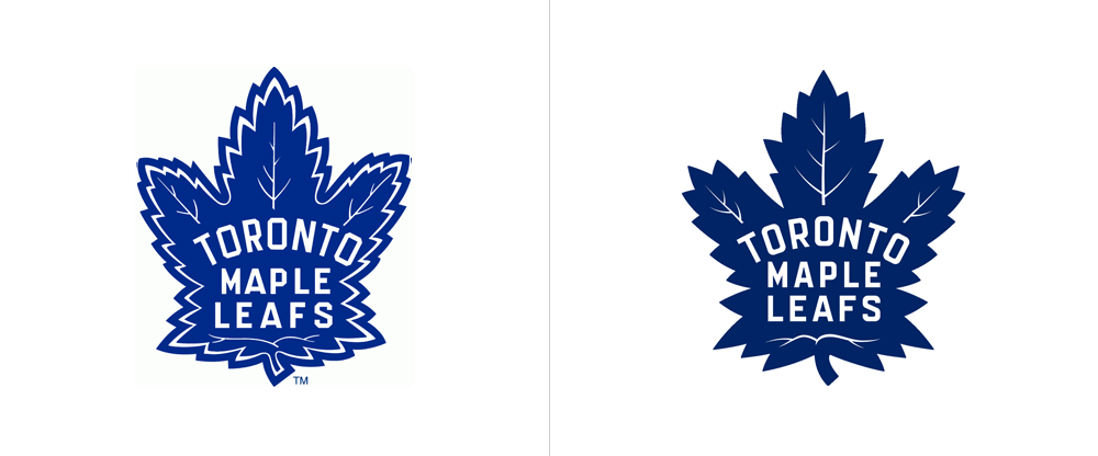 New Logo for Toronto Maple Leafs by Andrew Sterlachini