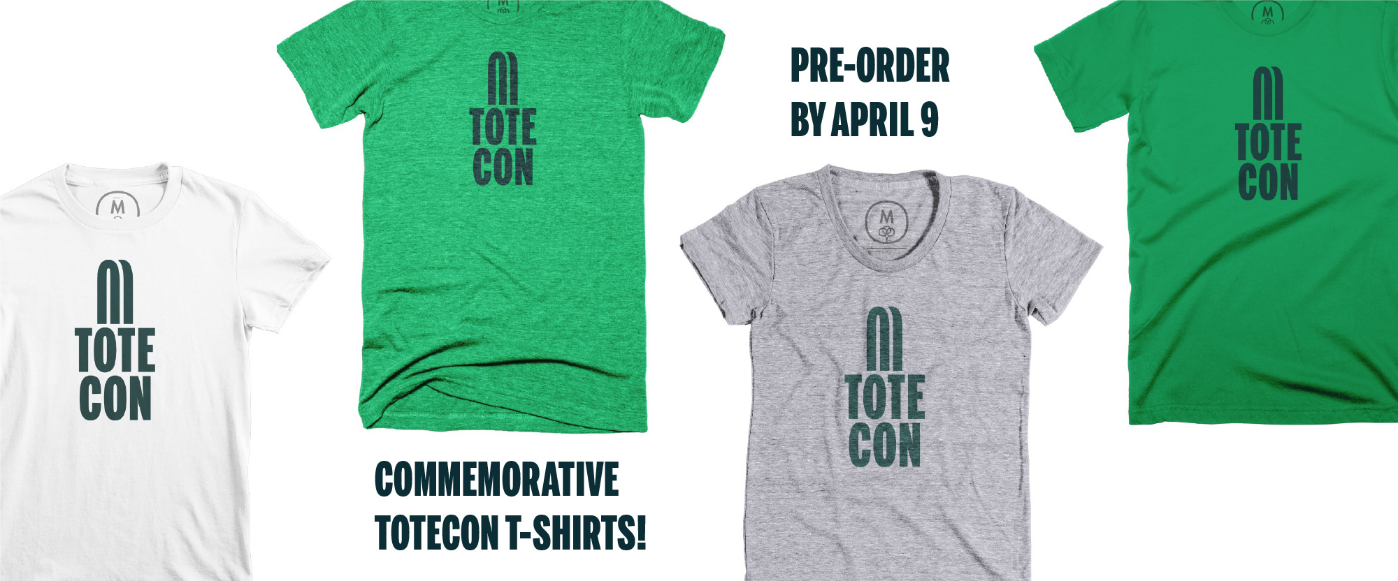 ToteCon T-shirts (for Real!)