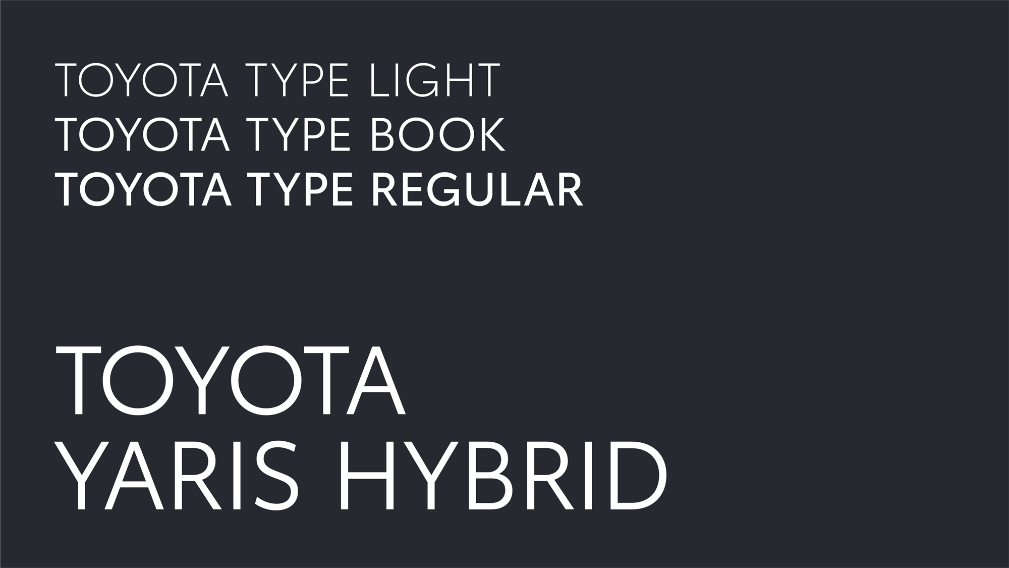 New Logo and Identity for Toyota Europe by The&Partnership