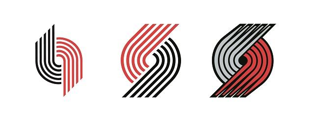 Blazers' Pinwheel Logo