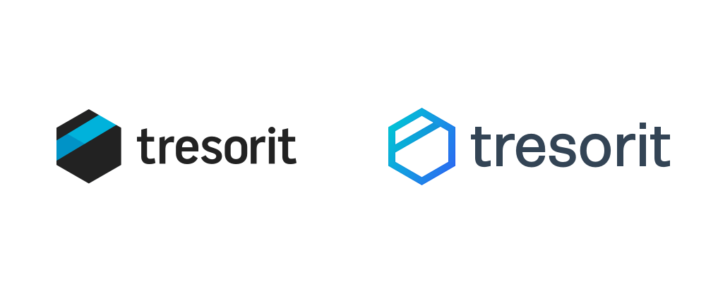 New Logo and Identity for Tresorit done In-house