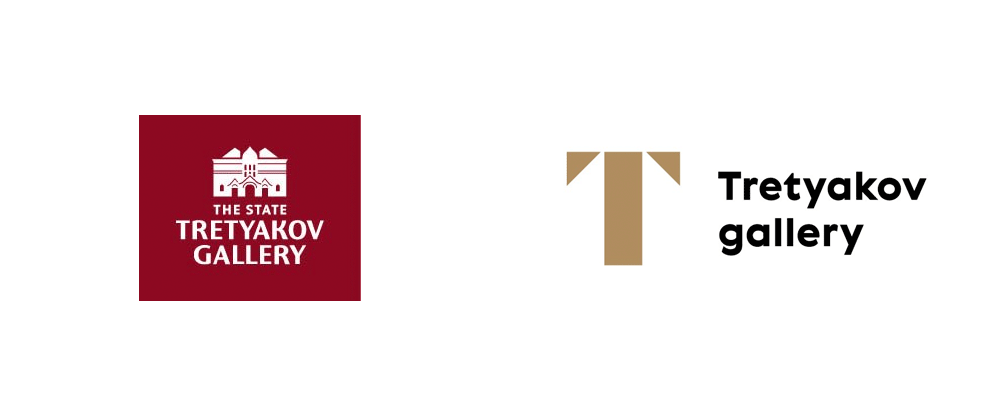New Logo and Identity for Tretyakov Gallery by ONY