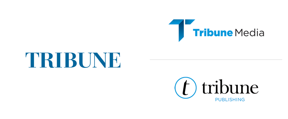 New Logos for Tribune Media Company and Tribune Publishing Company