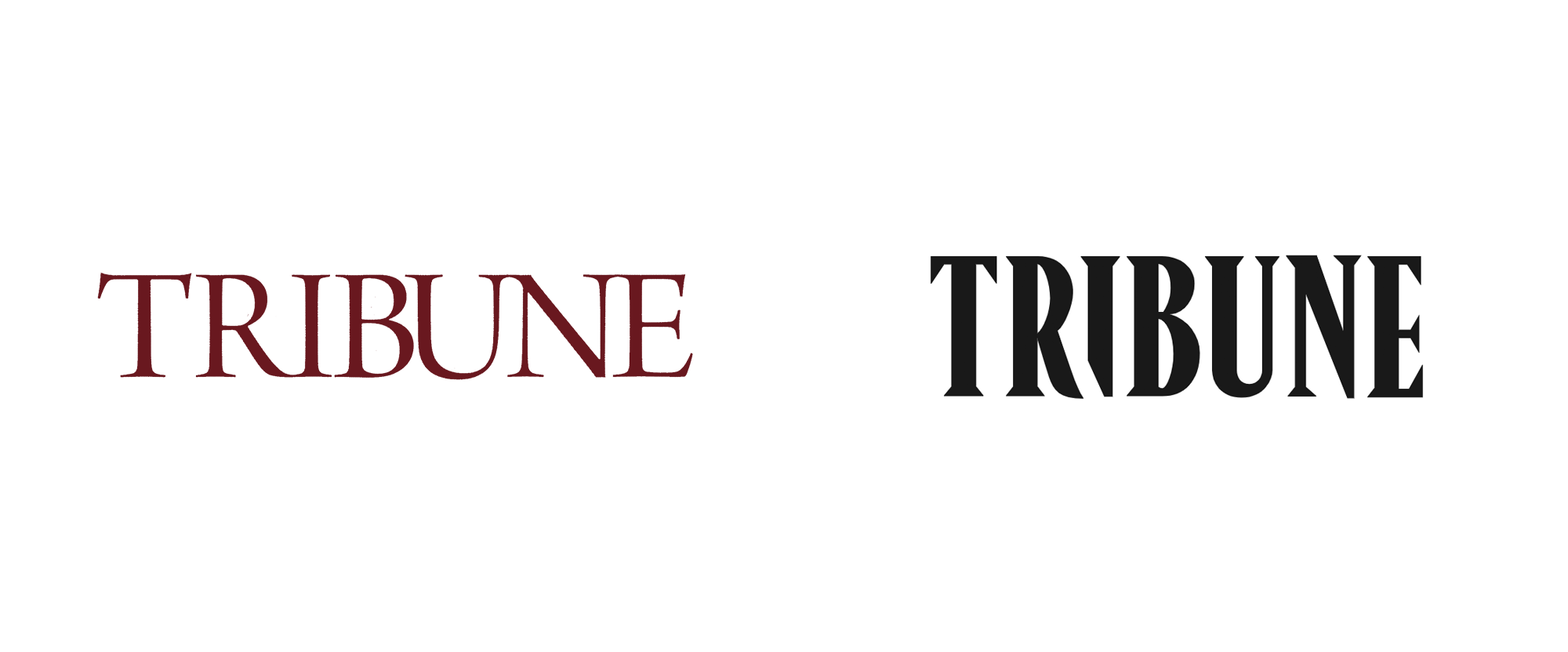New Logo for Tribune Magazine by Lauren Traugott-Campbell