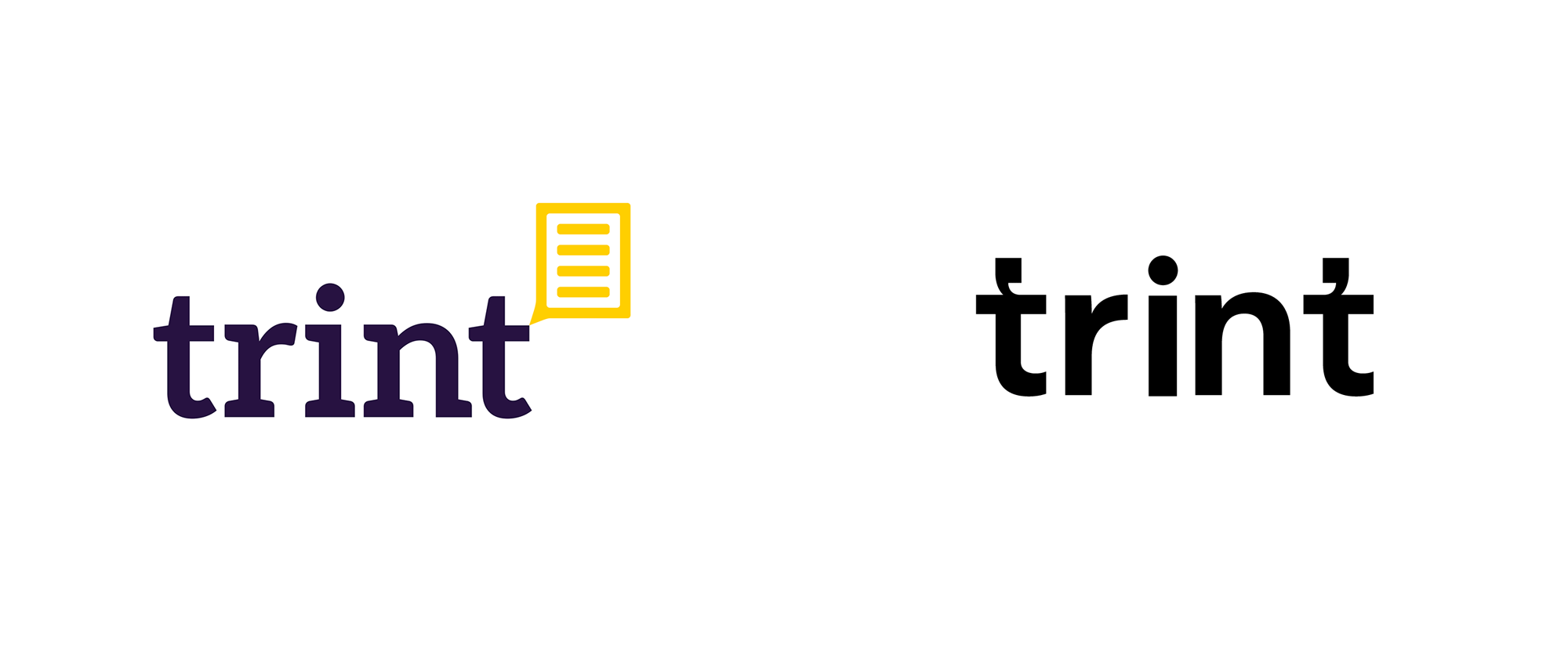 New Logo for Trint by Studio Lovelock