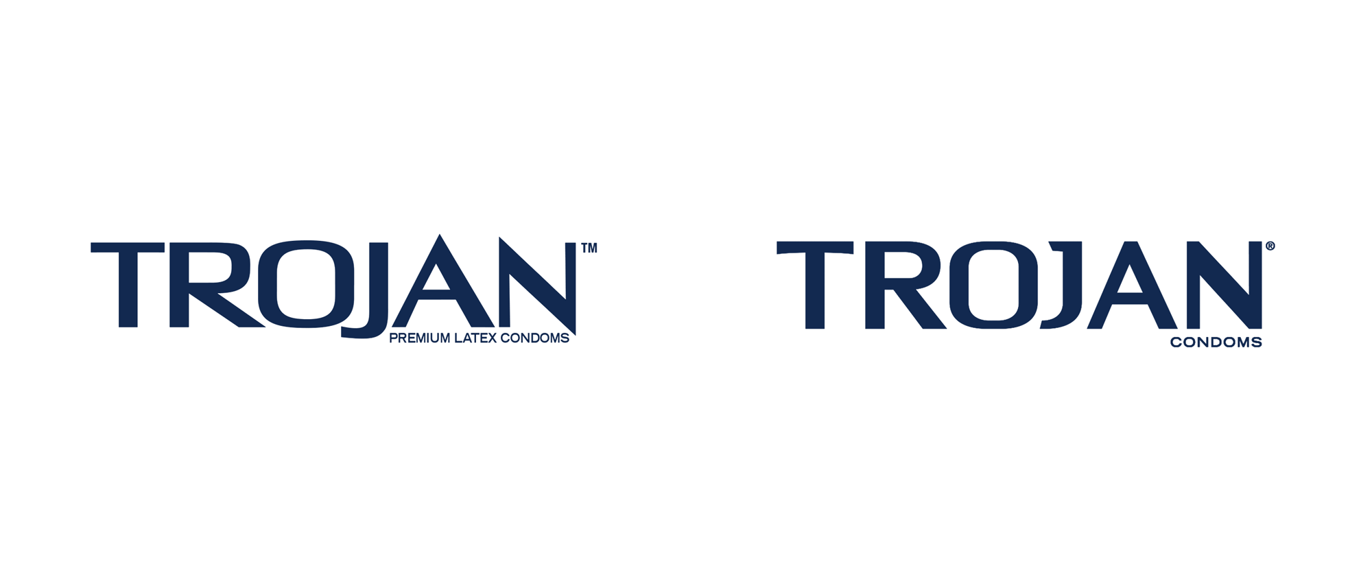 New Logo and Packaging for Trojan by Dragon Rouge