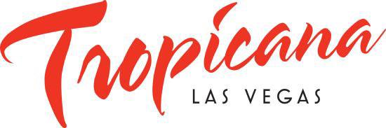 Vegas Logo Font Tropicana Las Vegas Logo