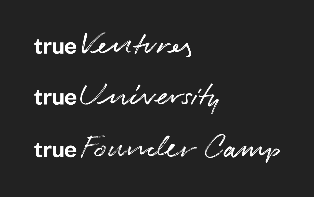 New Logo and Identity for True Ventures by Ueno