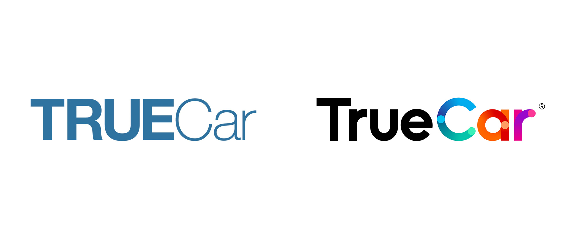 New Logo and Identity for TrueCar by Pentagram