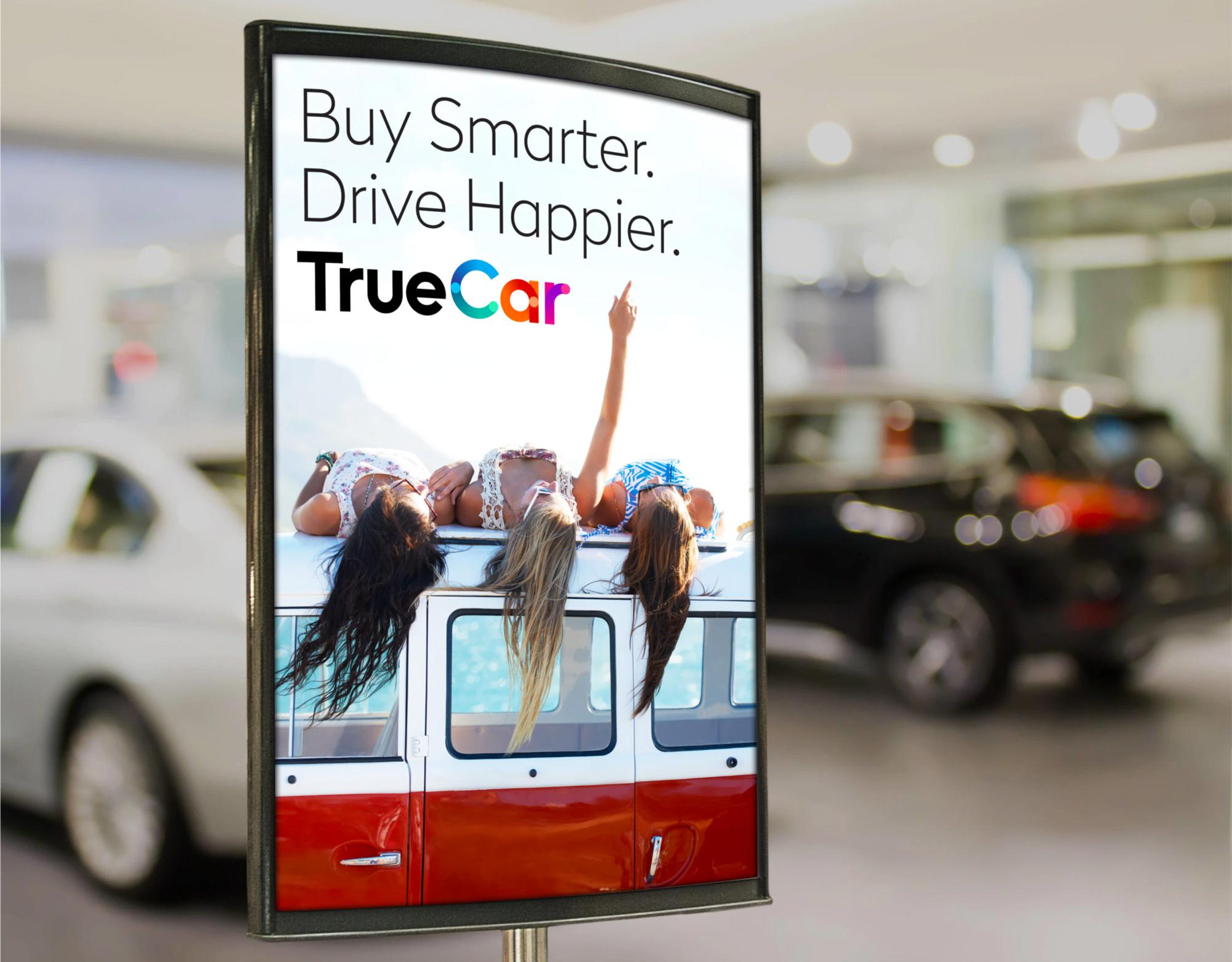 New Logo and Identity for TrueCar by Pentagram