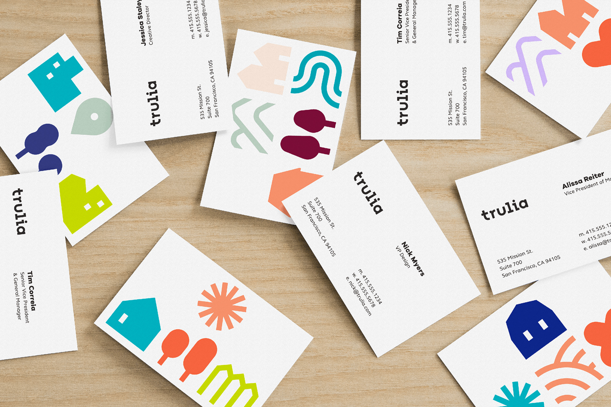 New Logo and Identity for Trulia by Design Studio
