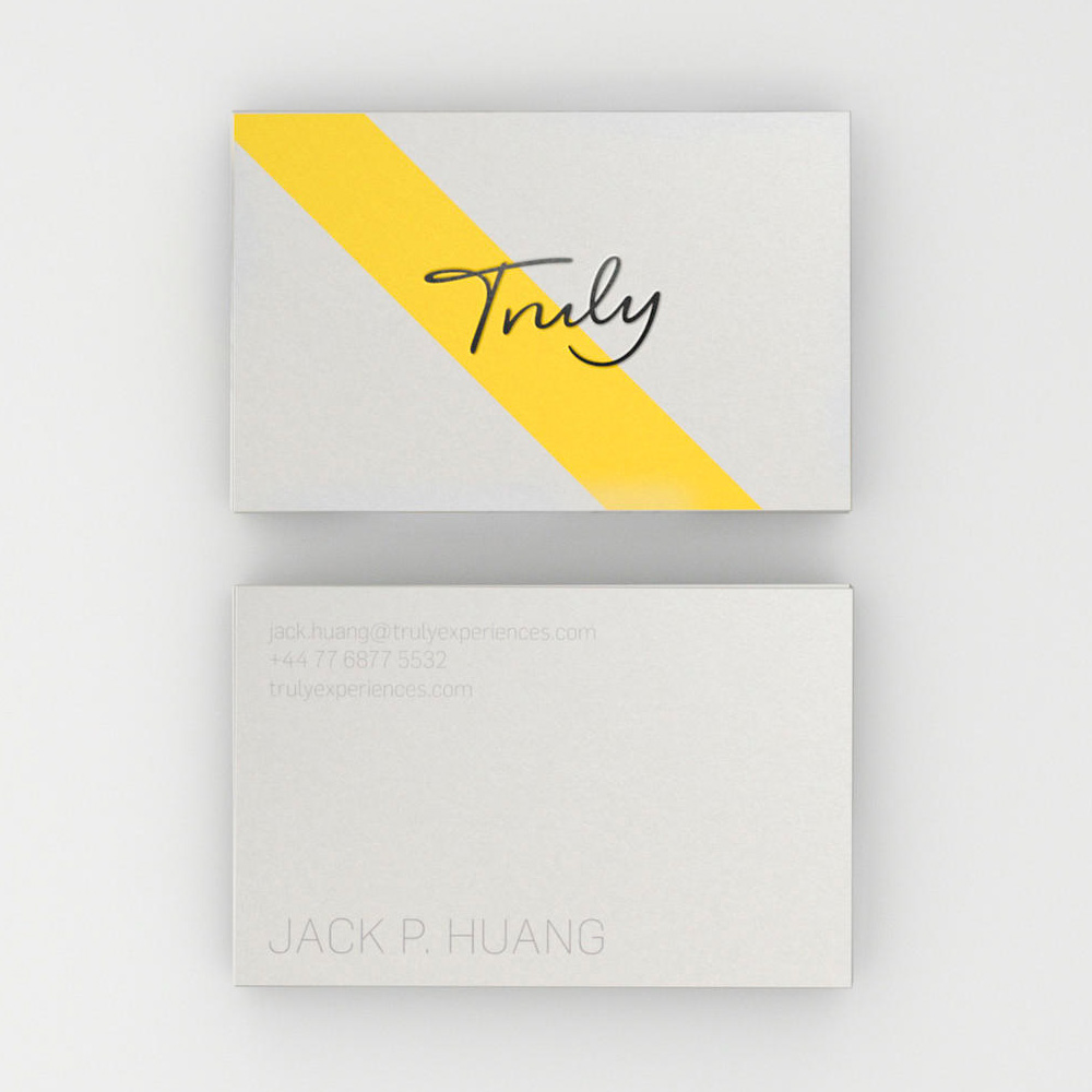 New Logo and Identity for Truly by Proxy and Rob Clarke