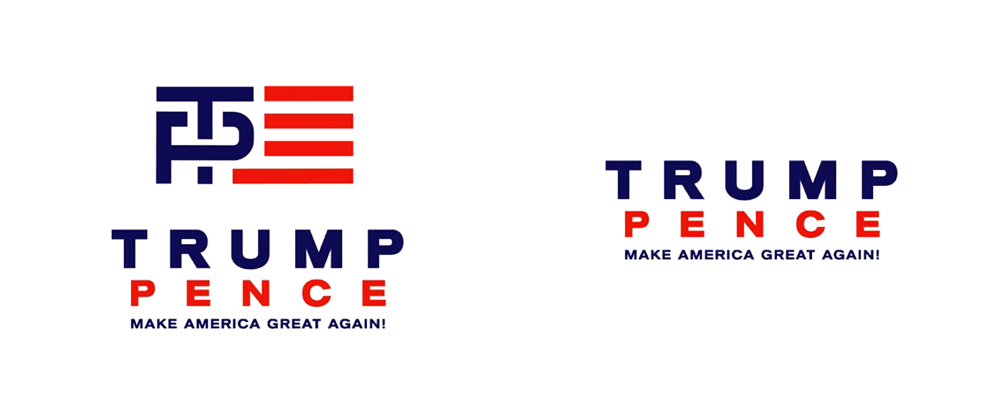 New Logo for Trump-Pence Candidacy