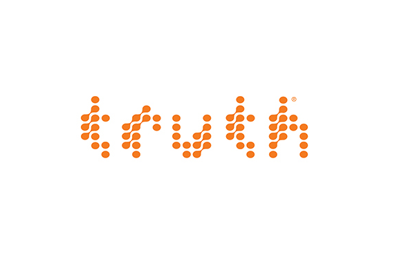 New Name, Logo, and Identity for Truth Initiative by Siegel+Gale