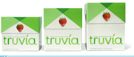 Truvia Packaging, New
