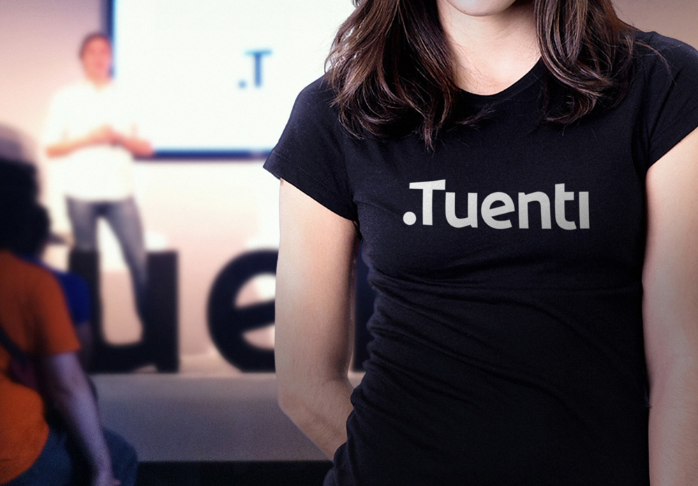 New Logo and Identity for .Tuenti by Saffron