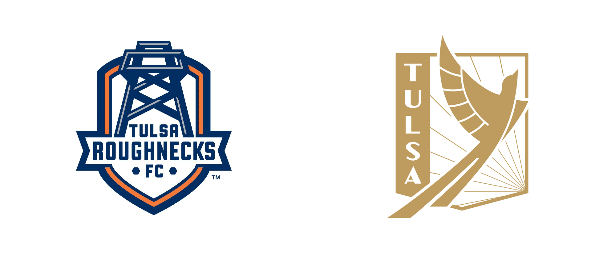 New Logo for FC Tulsa by Matthew Wolff