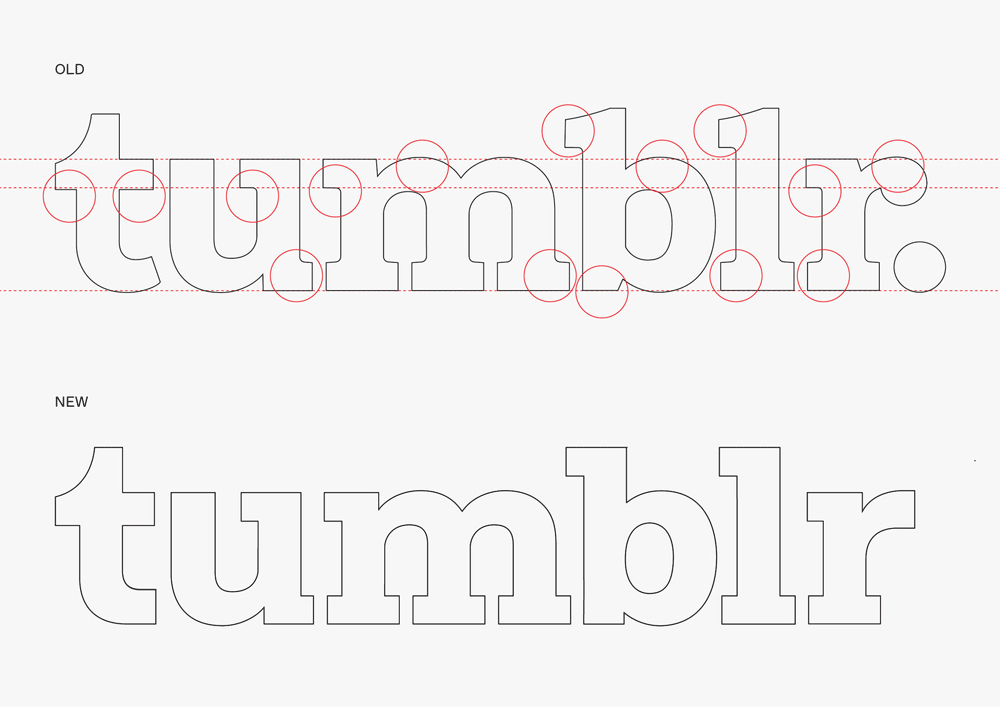 New Logo and Identity for Tumblr by Dinamo and In-house