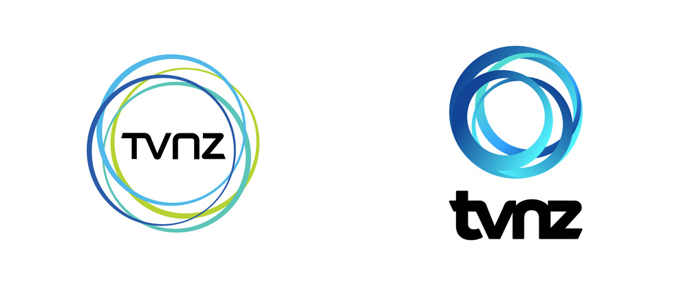 New Logos for TVNZ done In-house