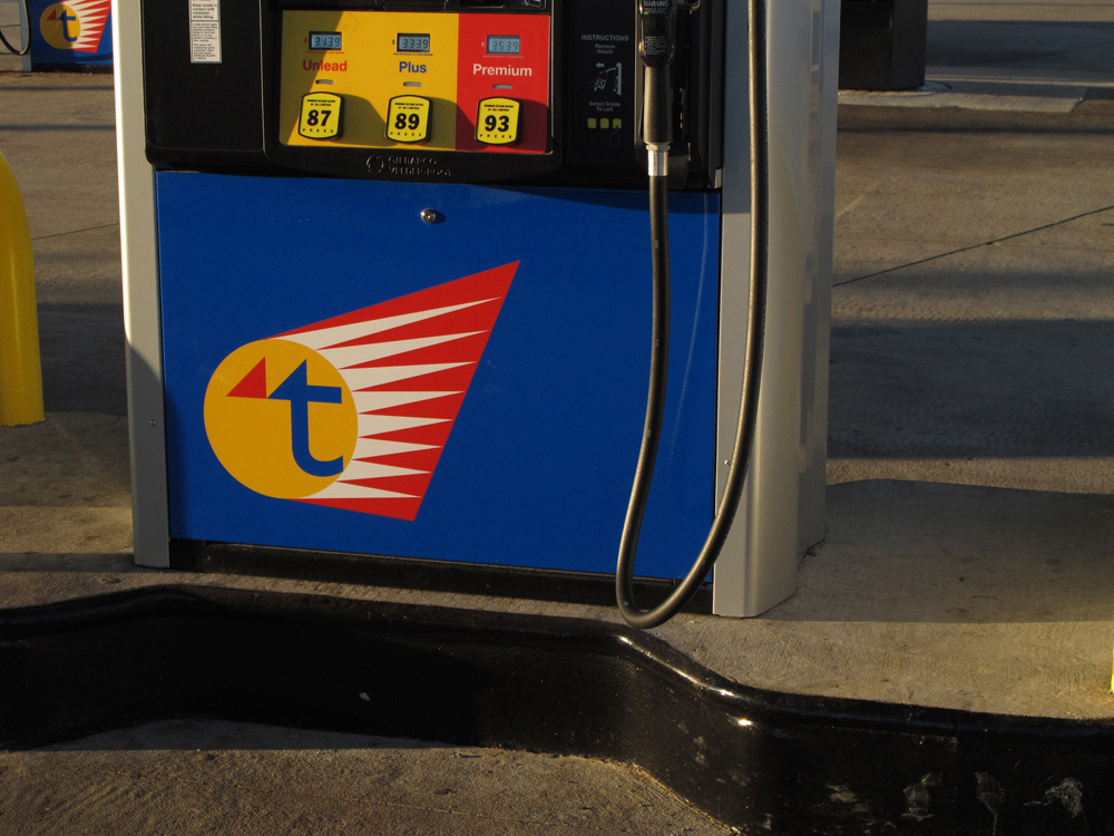 New Logo for Twice Daily Gas Stations by Onoma