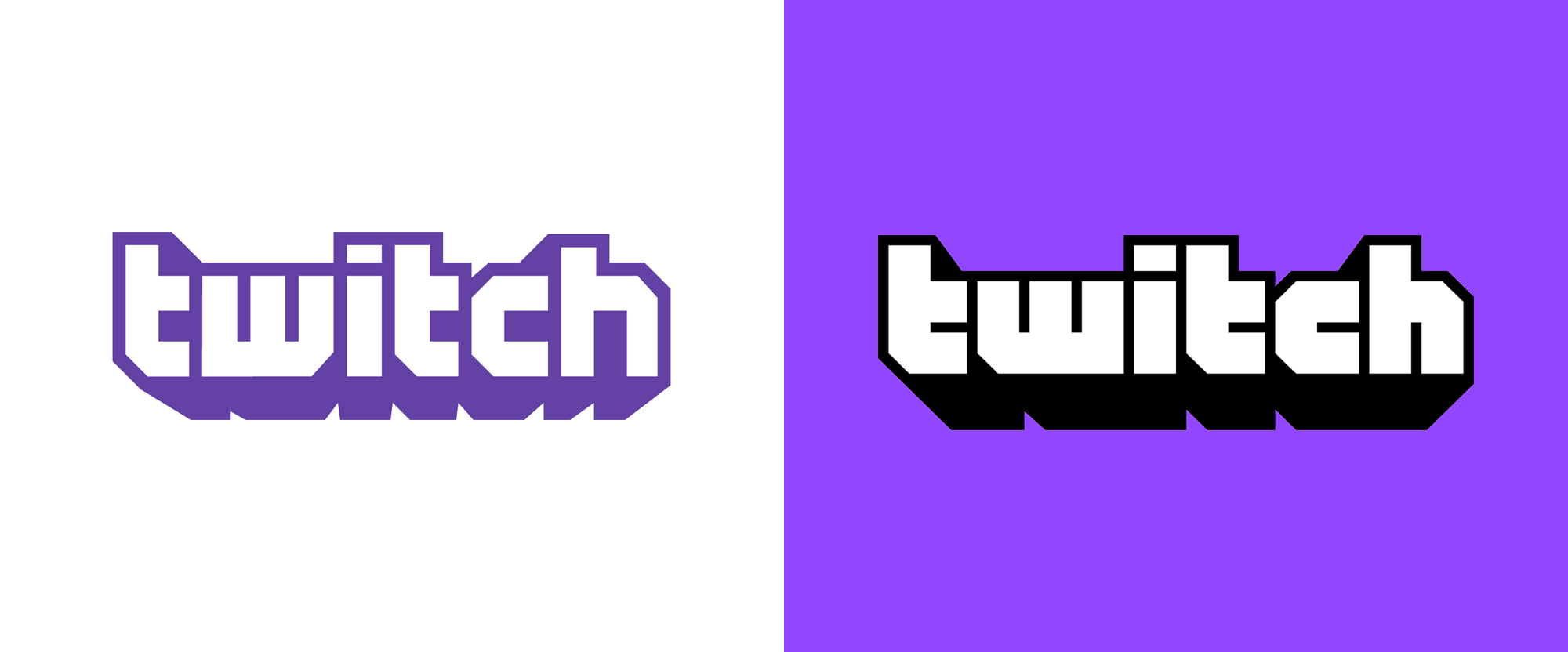 New Logo and Identity for Twitch by COLLINS and In-house