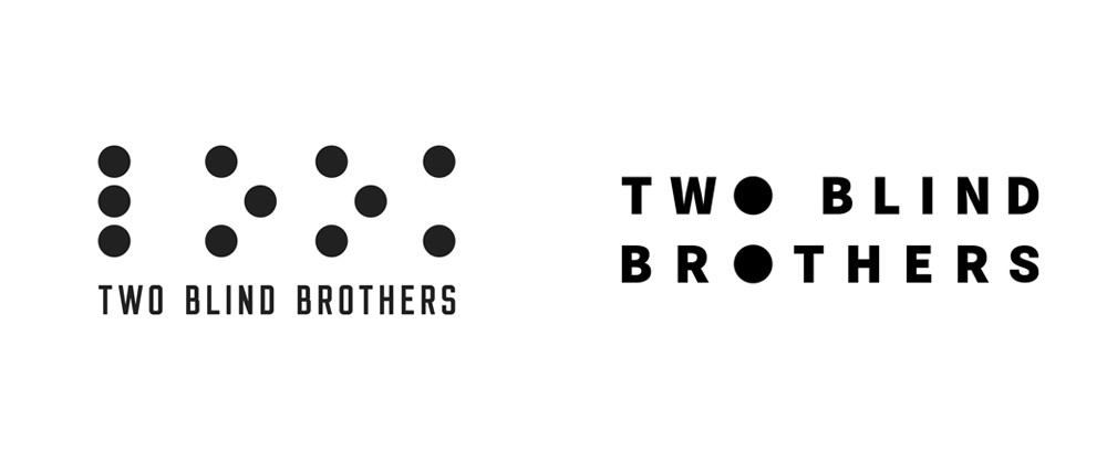 New Logo and Identity for Two Blind Brothers by SMAKK Studios