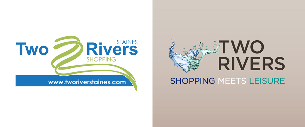 New Logo and Identity for Two Rivers by Designhouse